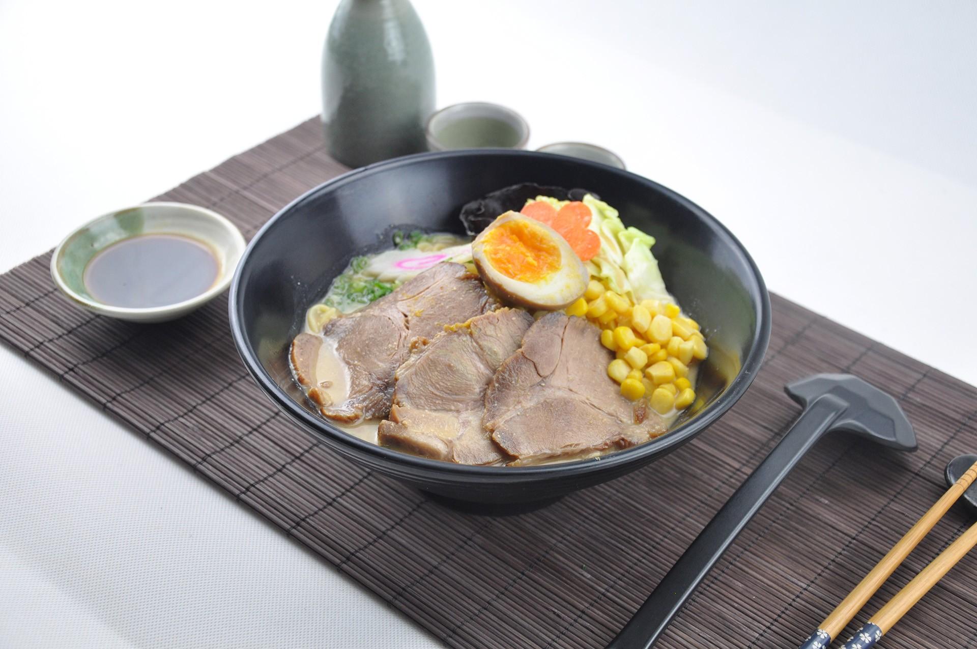 味噌叉燒拉麵(烏冬)