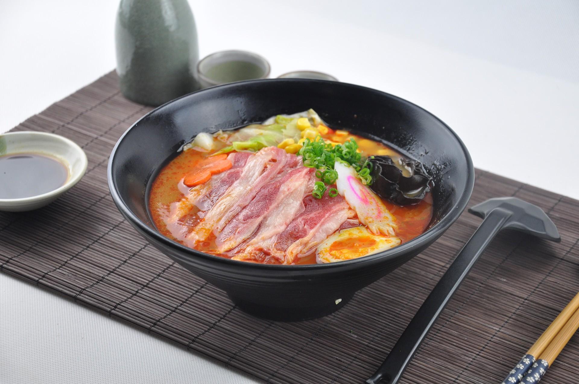 日式地獄肥牛拉麵